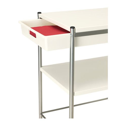 Jugendzimmer Komplett Set Ikea ~   IKEA BYGEL Utility cart IKEA The top of the cart is reversible and can