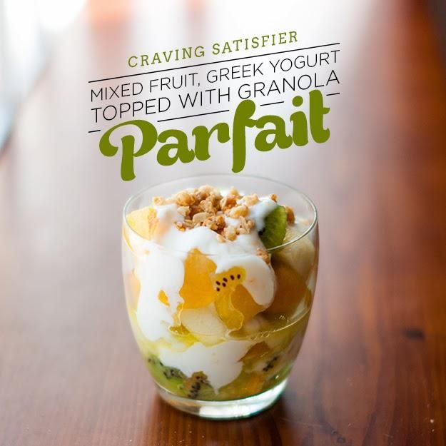 Parfait party featuring kiwi, yellow plum, pear and peaches.