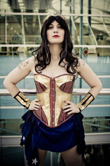 Steampunk-Inspired Wonder Woman Costume