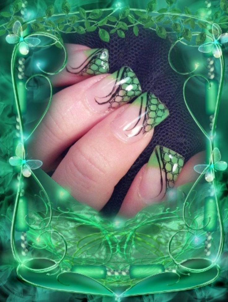Nails by Loretta Nelson. Working in a salon in St. George Utah for