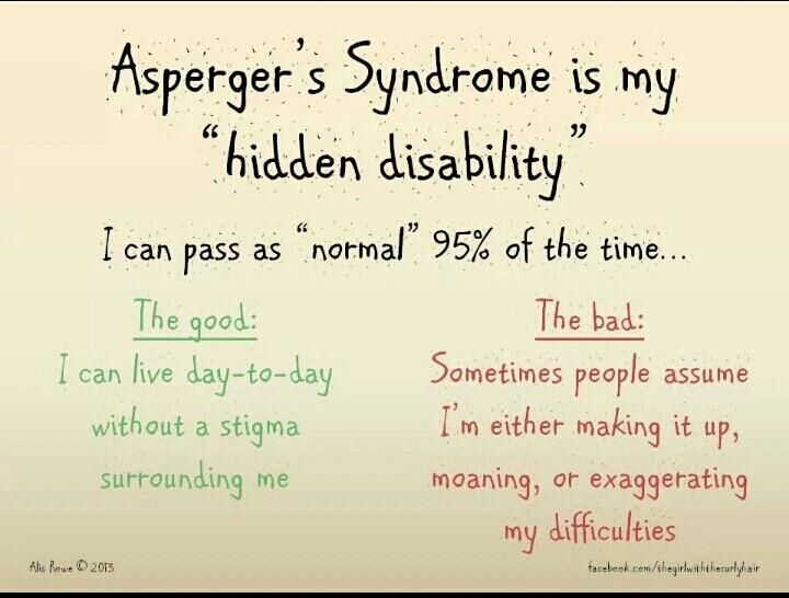 Adult asperger syndrome and social security disability