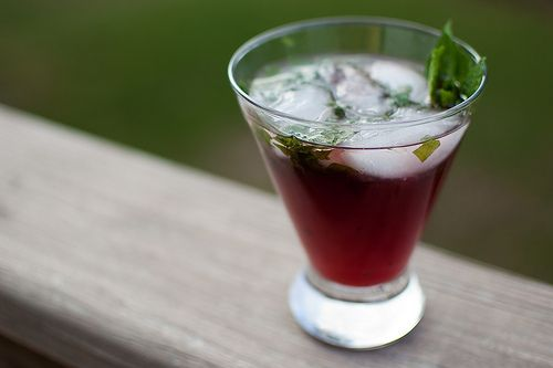 Pomegranate Mojitos. | Drink Up! | Pinterest