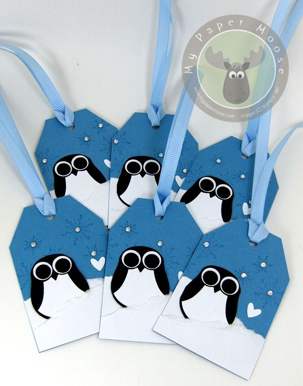 Penguin Gift Tag 3