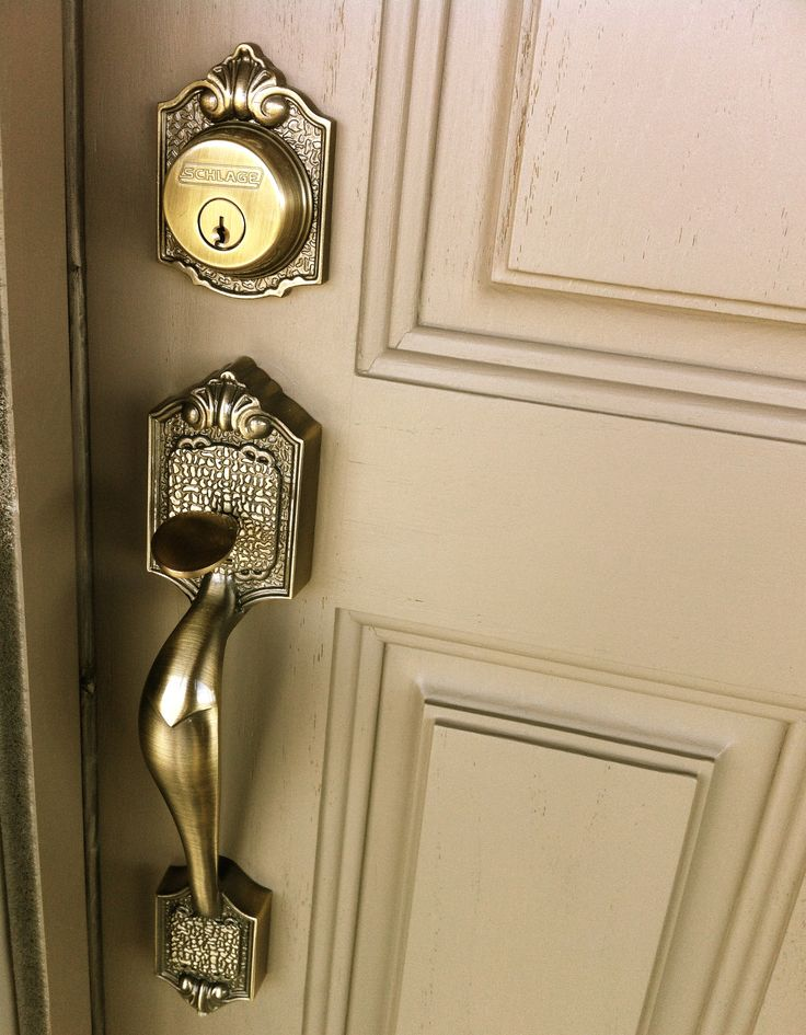 Front Door Handle And Lock House Colours Pinterest