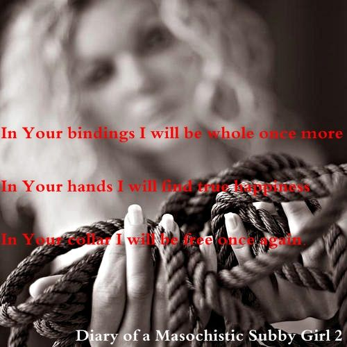 My writing for my page and diary diary of a masochistic subby girl 2