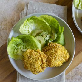 Rosemary-Lemon Cornflake-Crusted Oven Fried Chicken from www ...