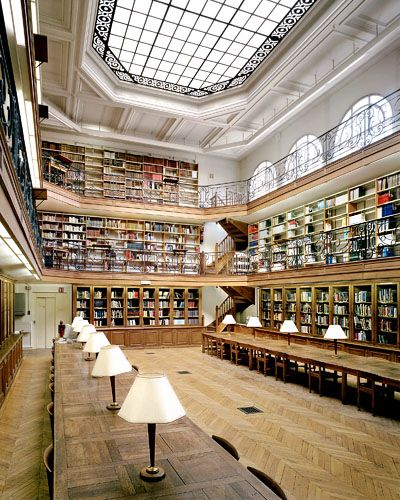 Biblioth que de l 39 cole des mines paris europe domes and for Ecole decorateur interieur paris