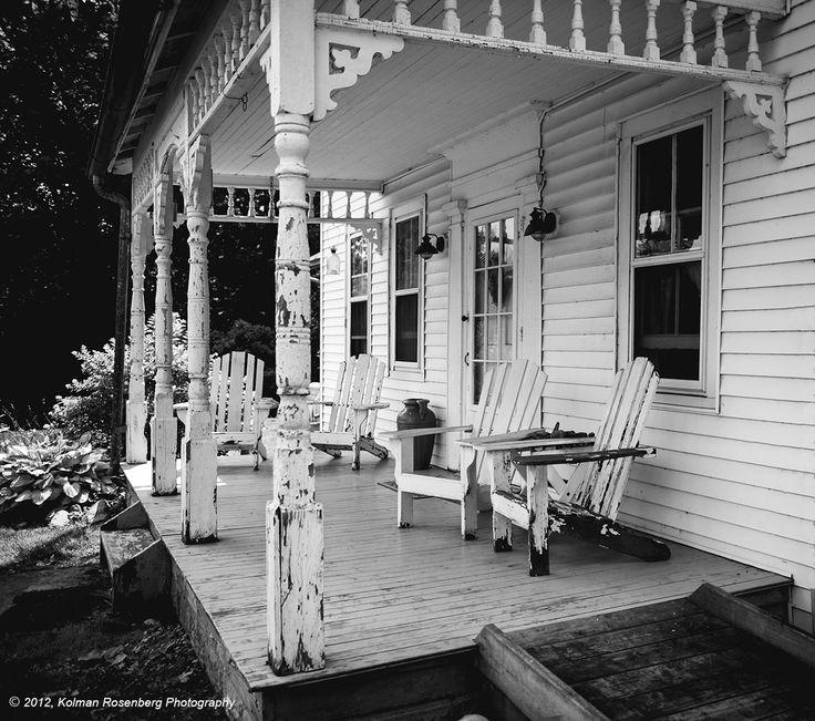 Great Farmhouse Porch Porches Pinterest