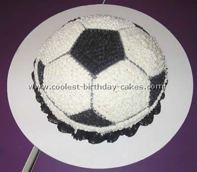 football birthday cakes recipes