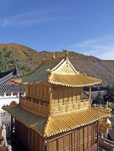 Xinzhou China  city images : Golden Temple Xinzhou, Shaanxi, China | CHINA | Pinterest