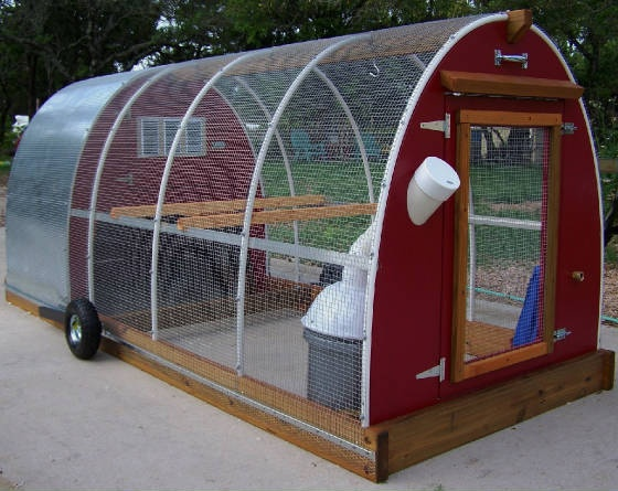 Mobile Chicken Coop Be Prepared Pinterest