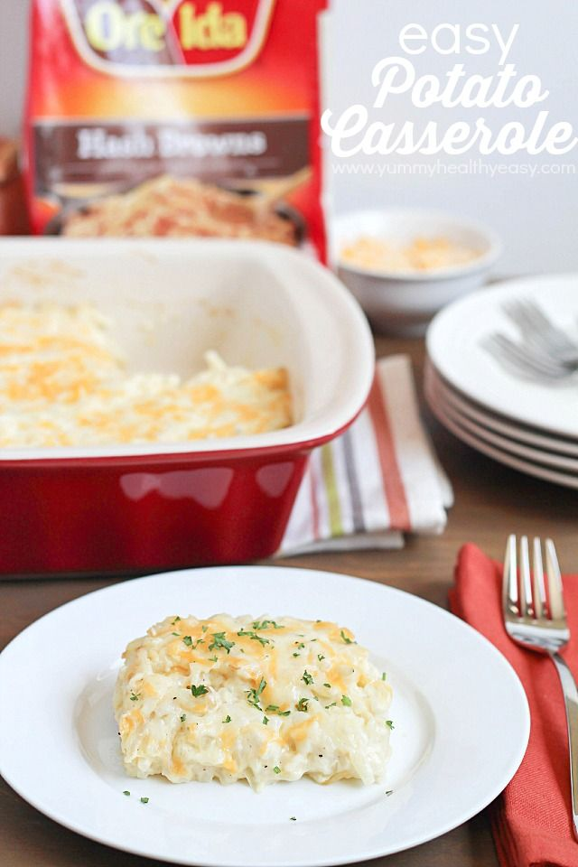 Delicious & Easy Potato Casserole - the perfect side dish for Easter ...