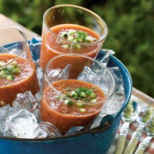 Grilled Gazpacho #OutdoorEntertaining