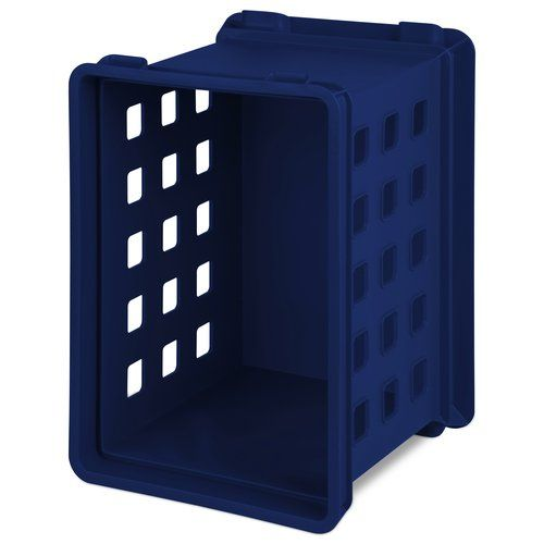 "Sterilite ""Locker Crate"" - just the right size for storing sewing ...: pinterest.com/pin/265360603014068999"