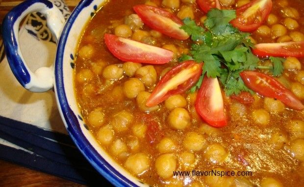 Chana Masala/Indian Chickpeas Curry | Curry | Pinterest
