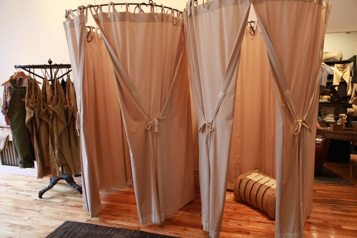 Boutique curtains