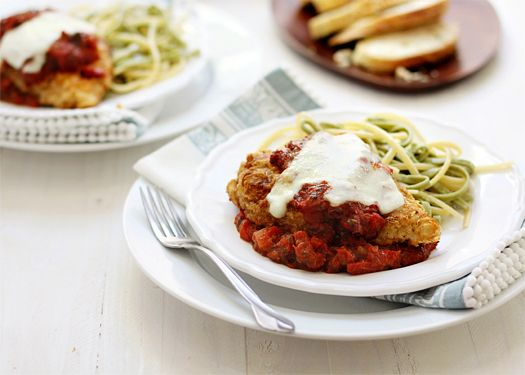 Chicken Parmesan with Sundried Tomato Sauce | Recipe
