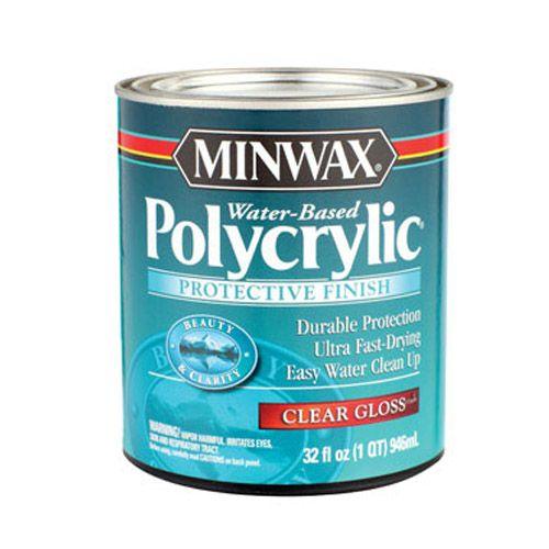 Minwax Polycrylic Protective Finish - Wood Protection Minwax