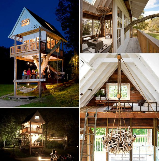 Tree House Floor Plans For Adults House Plans