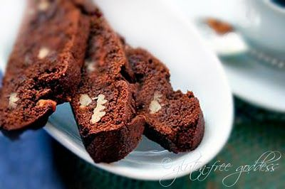 Chocolate Biscotti Recipe: Gluten-Free Sugar-Free These biscotti are ...
