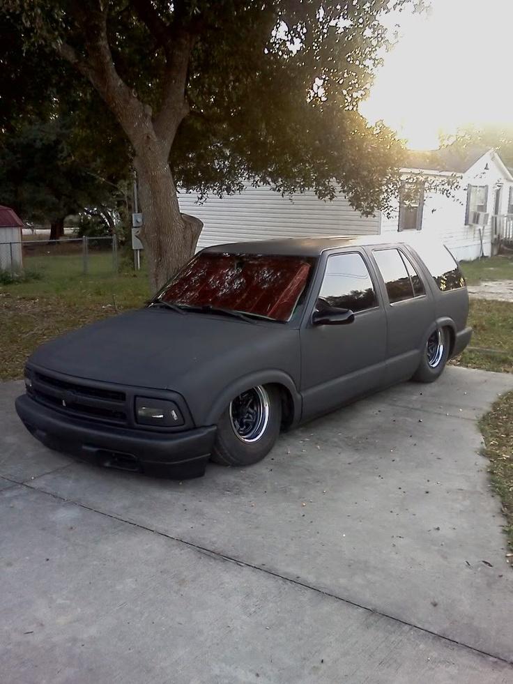 Hellaflush + Blazer = Hawt | Chevy S10 trucks | Pinterest S10 Hellaflush