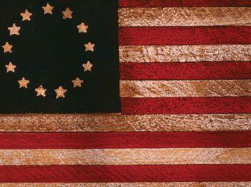 flag of 13 colonies