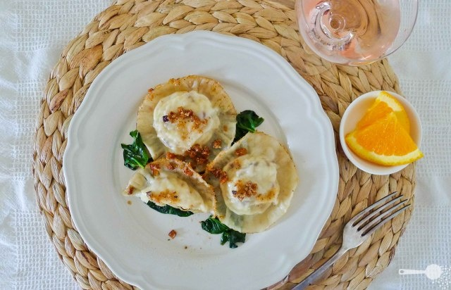 Ricotta Dumplings With Chèvre & Herbs Recipes — Dishmaps