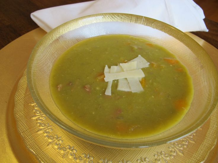 Slow Cooker Split Pea Soup | Food and Drink | Pinterest