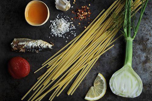 Linguine with Sardines, Fennel & Tomato | Recipe