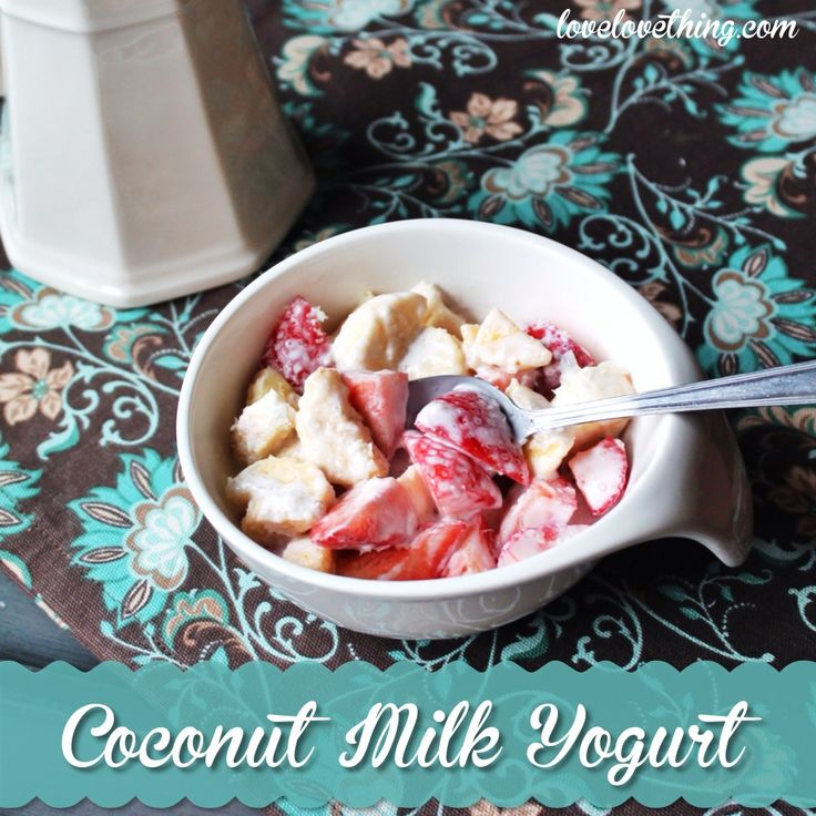 Learn how to make homemade coconut milk yogurt - it's so simple!