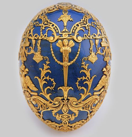Imperial Czarevich Easter Egg - Henrik Wigstrom for Fabergé, 1912
