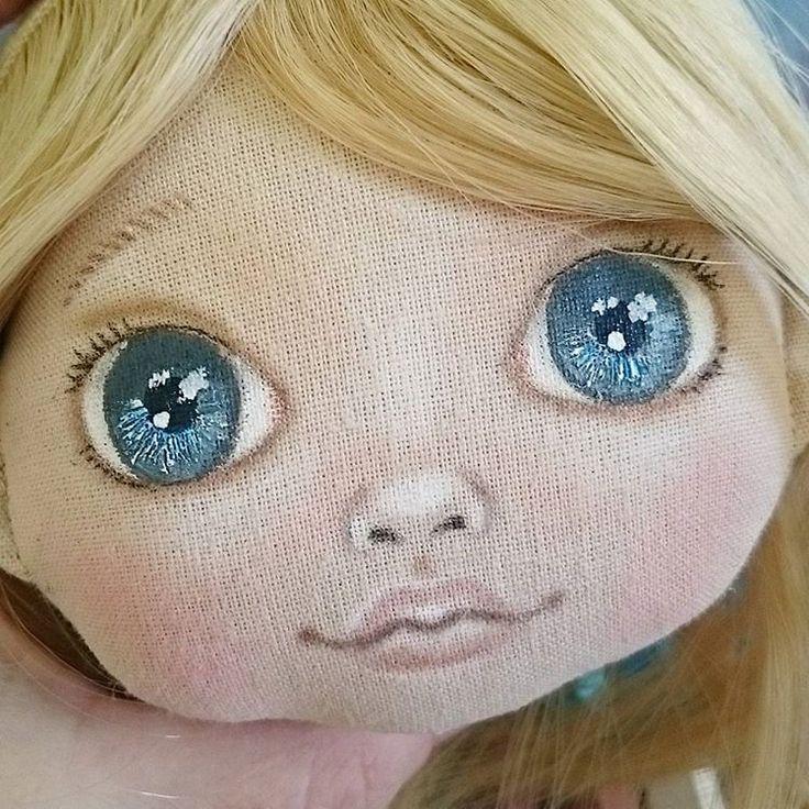 Куклы своими руками нарисовать лицо 658