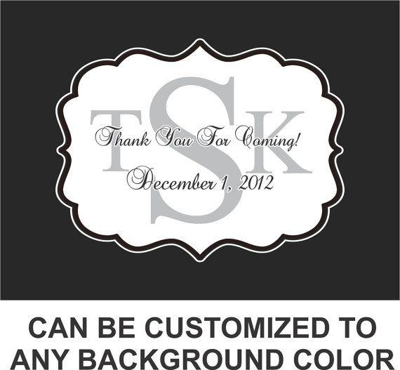 Wedding Gift Bag Labels : Gift Bag Labels 50 Count - Wedding Favor , Welcome Bag Labels, Sticke ...
