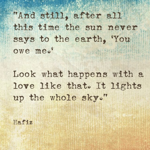 hafiz quotes even after all this time - photo #14
