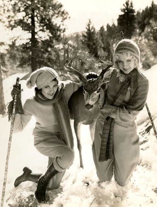 maudelynn: Wintertime Fun withRuth Hall and Polly Waltersat Big Pine California
