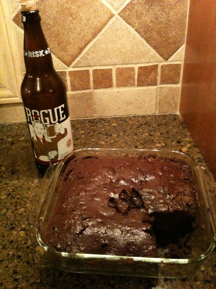 Rogue Ales Chocolate Stout Brownies | Better With Beer | Pinterest
