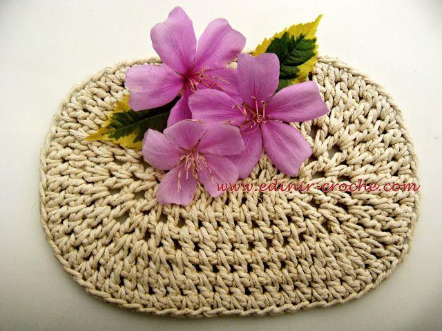 croche endurecido como fazer passo-a-passo com edinir-croche