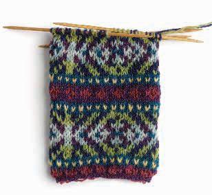 Color Knitting Super Easy * The Fair Isle Knitting