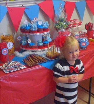 March 2 is Dr. Seuss's birthday ... throw a party to celebrate! It is ...