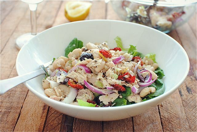 Tuscan Tuna and White Bean Salad! | Recipes - general | Pinterest