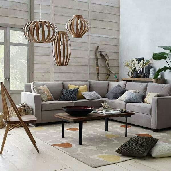 Living Room Via West Elm Interiors Design Pinterest
