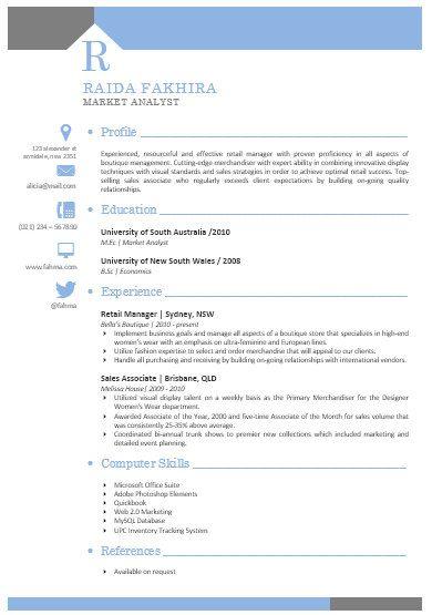 modern microsoft word resume template raida fakhira 01 resume tem
