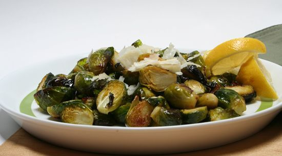... lemon parmesan brussel sprouts. Best way to eat your brussel sprouts