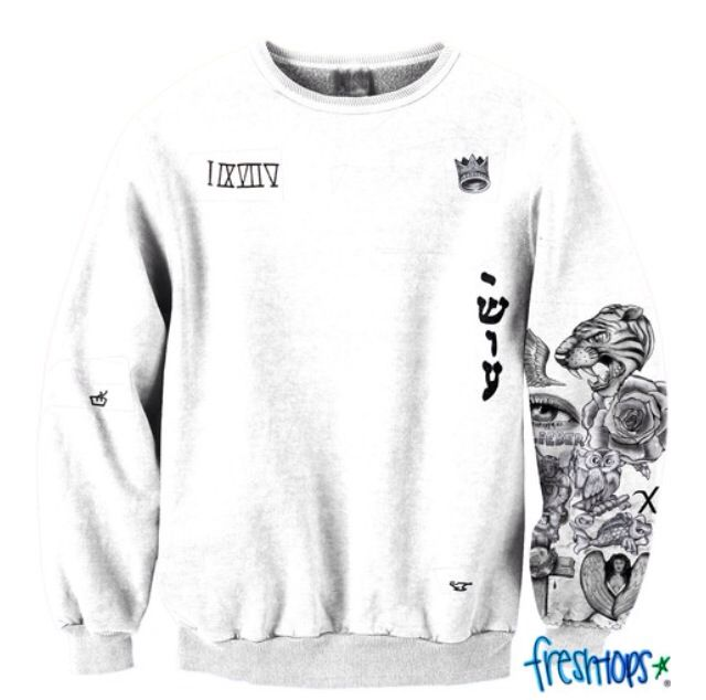Pin by perrine van loef on freshtops pinterest for Justin bieber tattoo sweatshirt