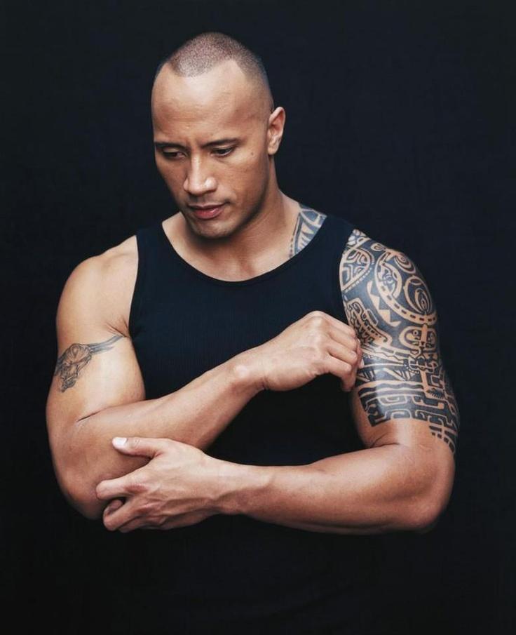 Dwayne Johnson Aka The Rock ♥  Popular People Pinterest