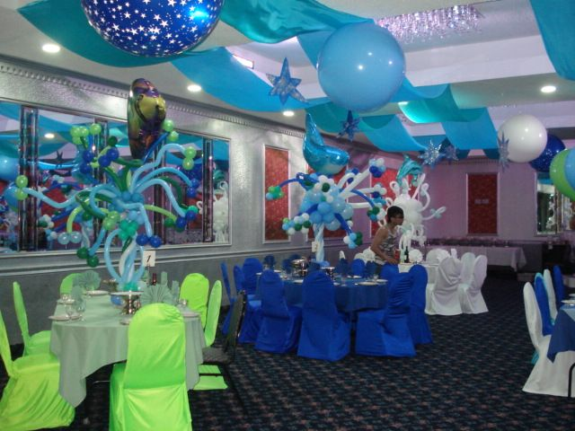 Pin by nicole cascio on under the sea party ideas pinterest for Sea themed decorating ideas