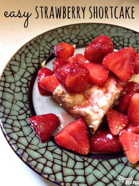 Easy Homemade Strawberry Shortcake | Recipe