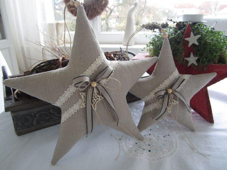 Штерна-Weihnachten им Landhaus - Стиль фон Feinerlei Ауф DaWanda.com