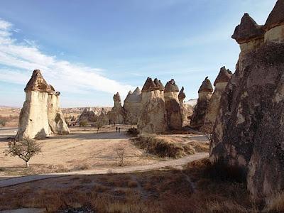 Chimeneas de hadas de Capadocia