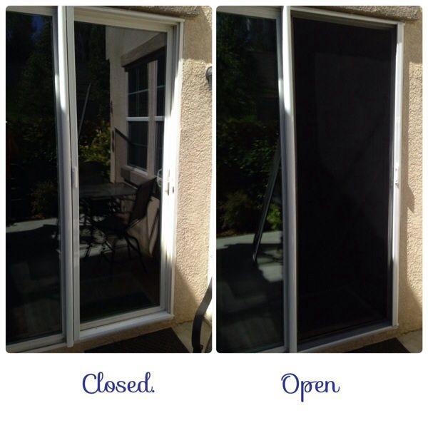 sliding glass door scmblinds retractable screens sliding glass
